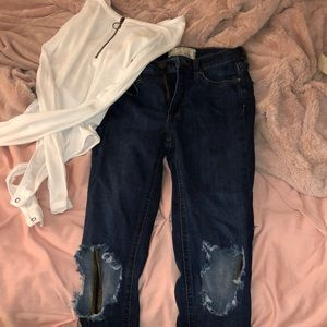 2 for 1! Free people outfit!